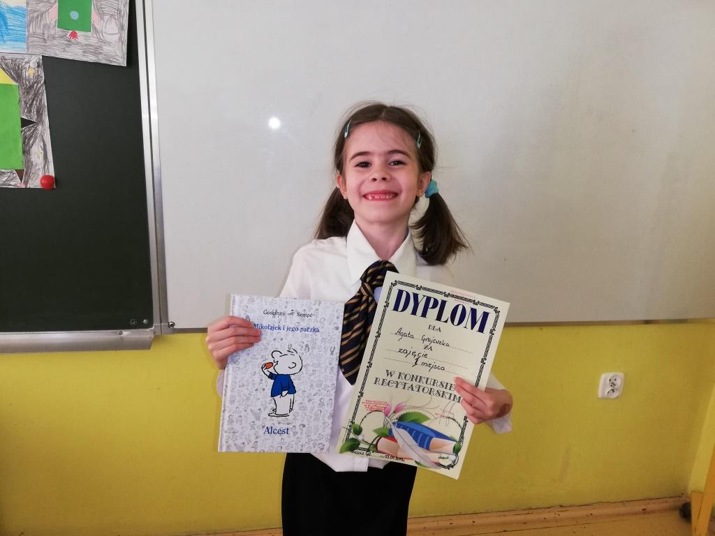Laureatka Agatka Grajewska