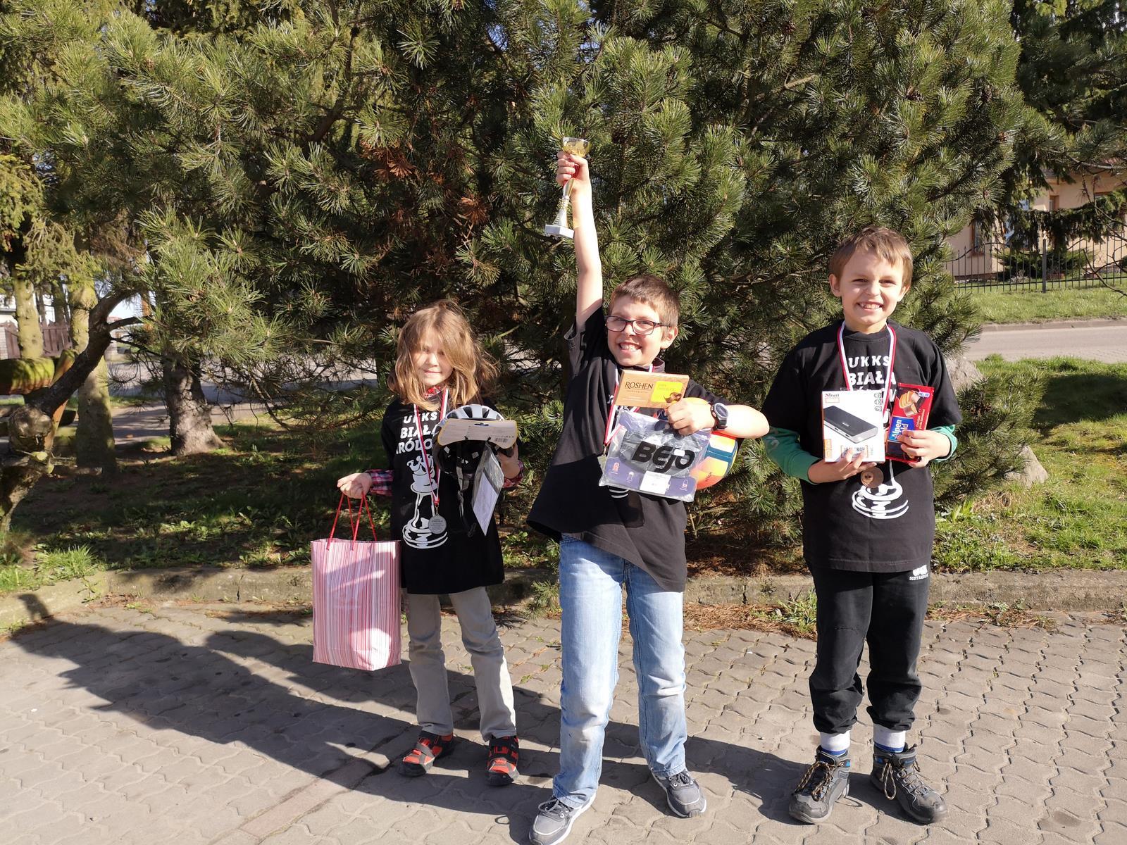 Sukcesy uczniów naszej Szkoły: turniej szachowy w Suminie 31. marca 2019r.