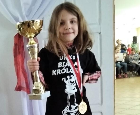 Helenka Narwojsz - Mistrzyni Województwa Pomorskiego w Szachach