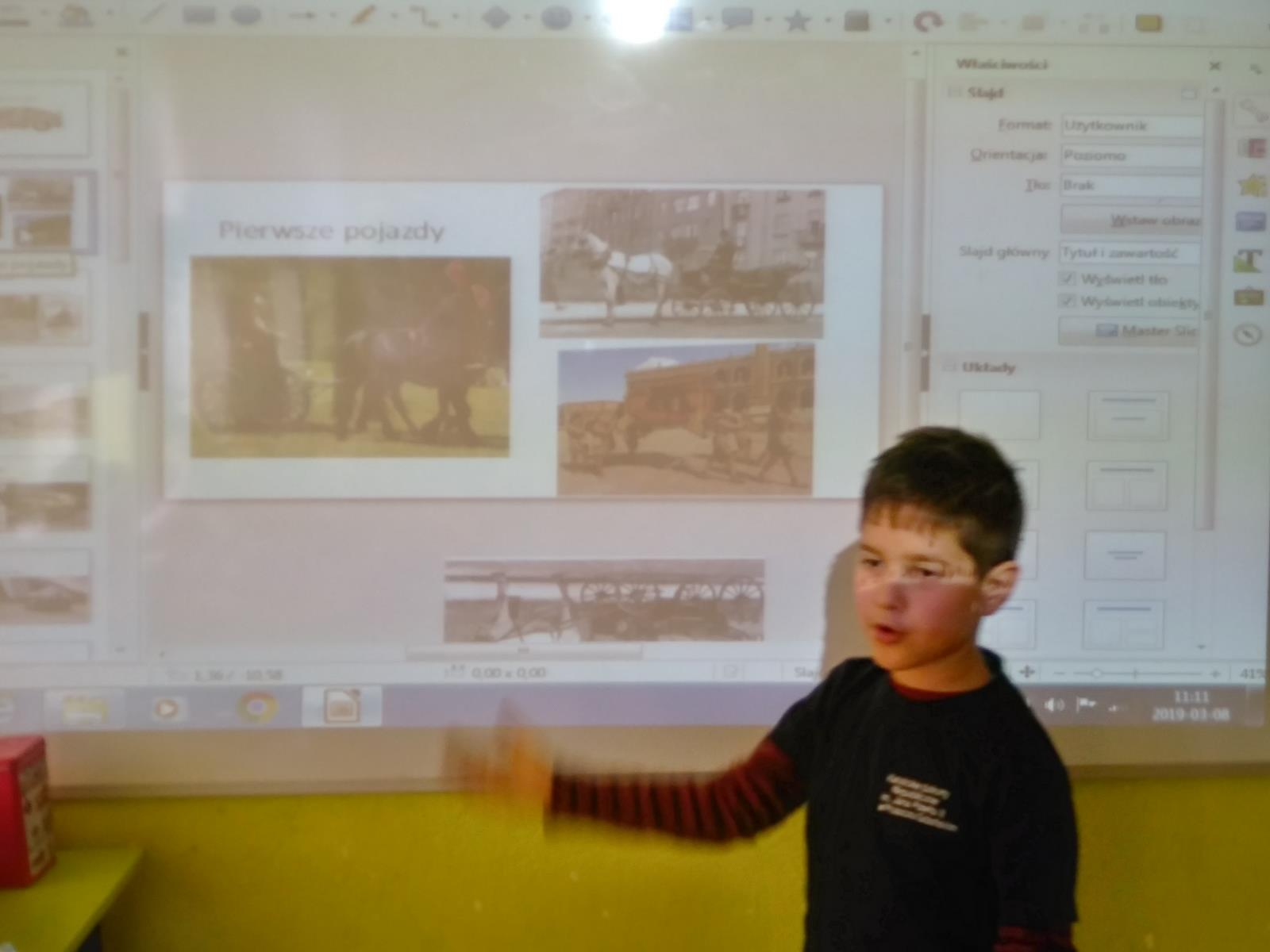 Historia motoryzacji -  w roli nauczyciela Bartuś