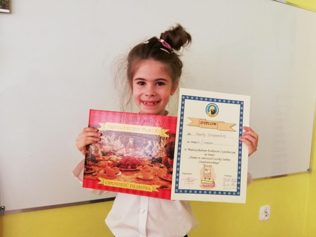 Sukces Agatki Grajewskiej