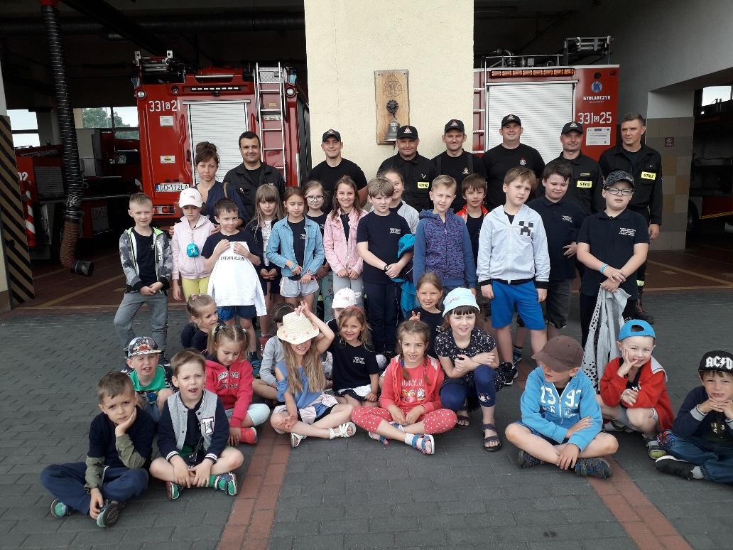 Wycieczka do Pańtwowej Straży Pożarnej