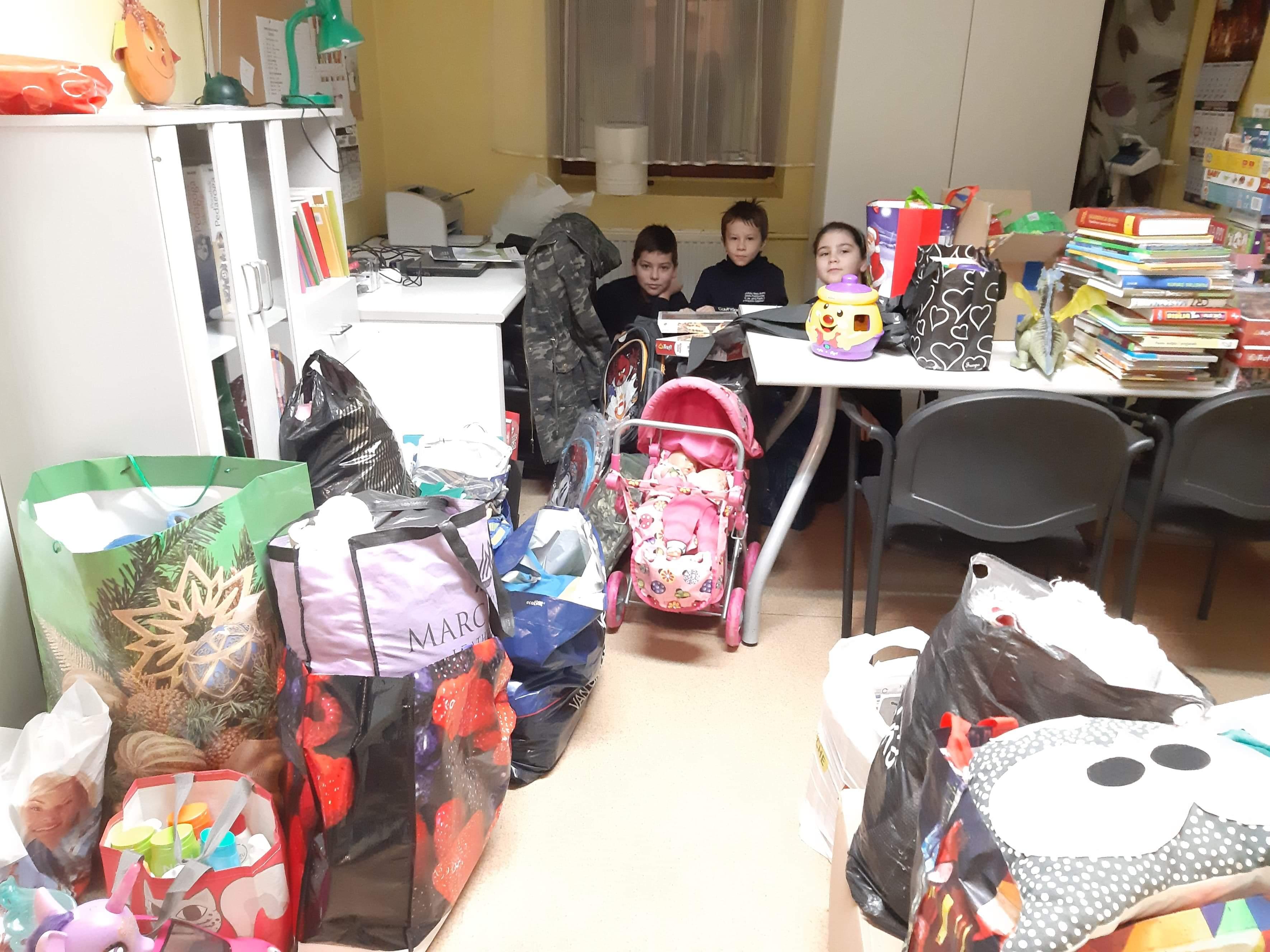 Podziękowania za udział w zbiórce na rzecz dzieci z Gdańskich Domów Dziecka
