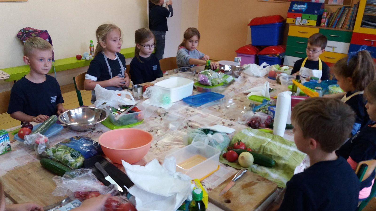 Warsztaty kulinarne w klasach 2-3 SP
