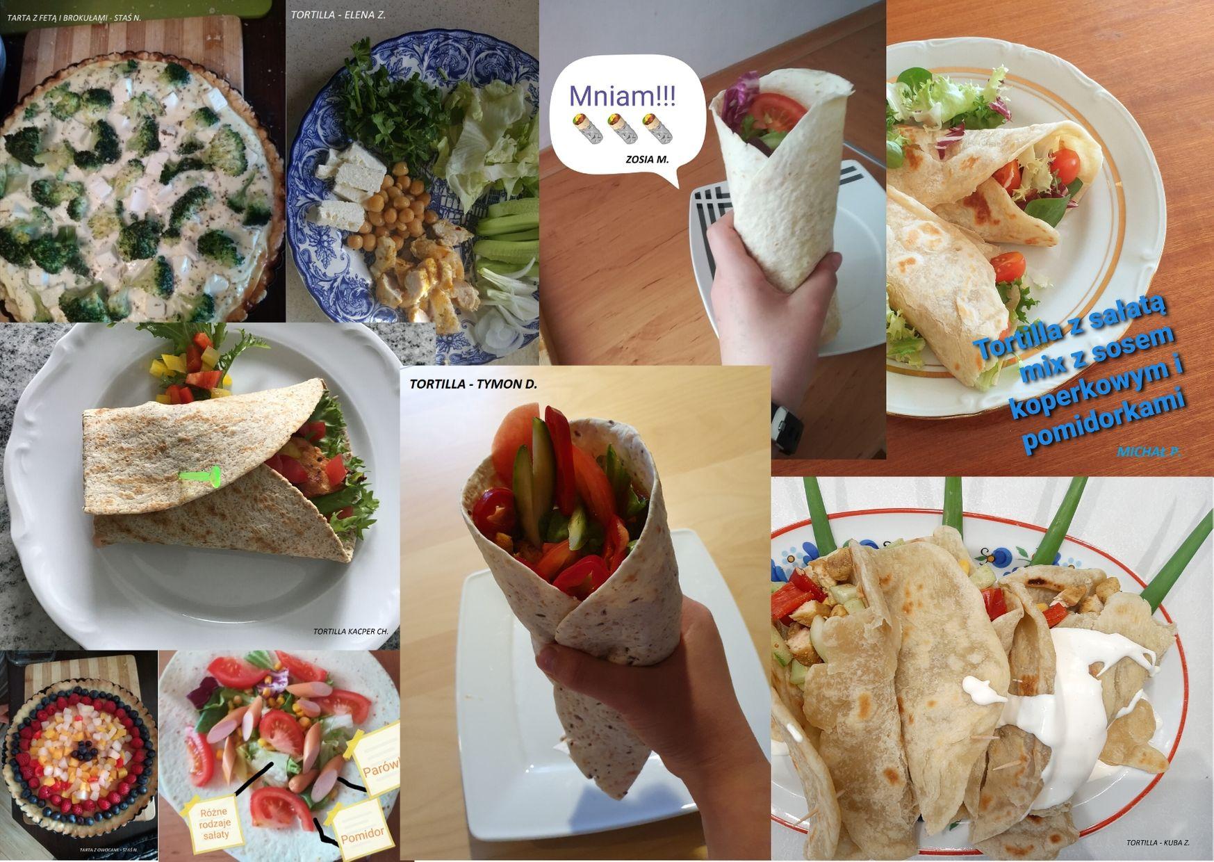 Witaminy na talerzu w klasie V - jemy smacznie i zdrowo