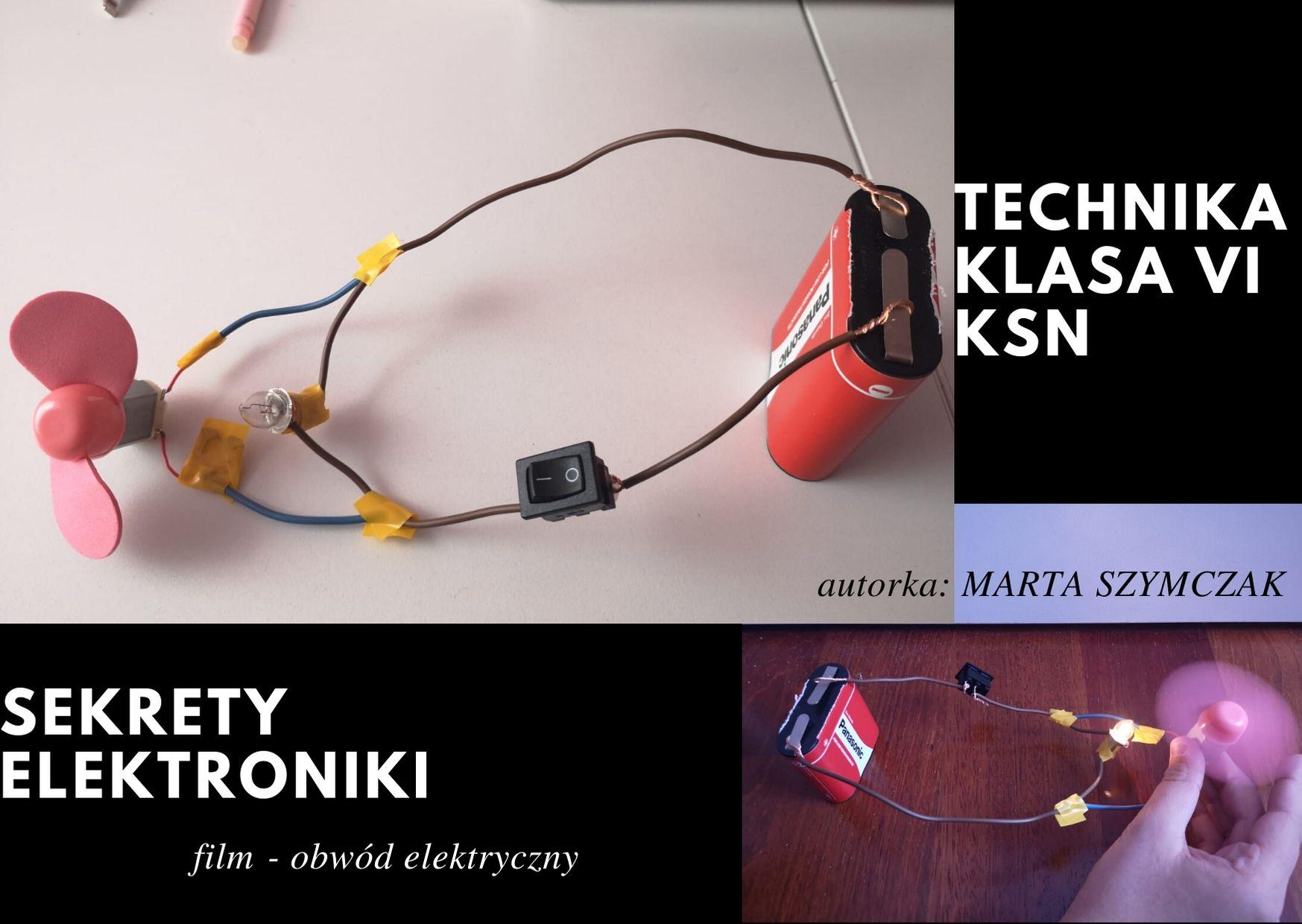 Projekt Marty - obwód elektryczny
