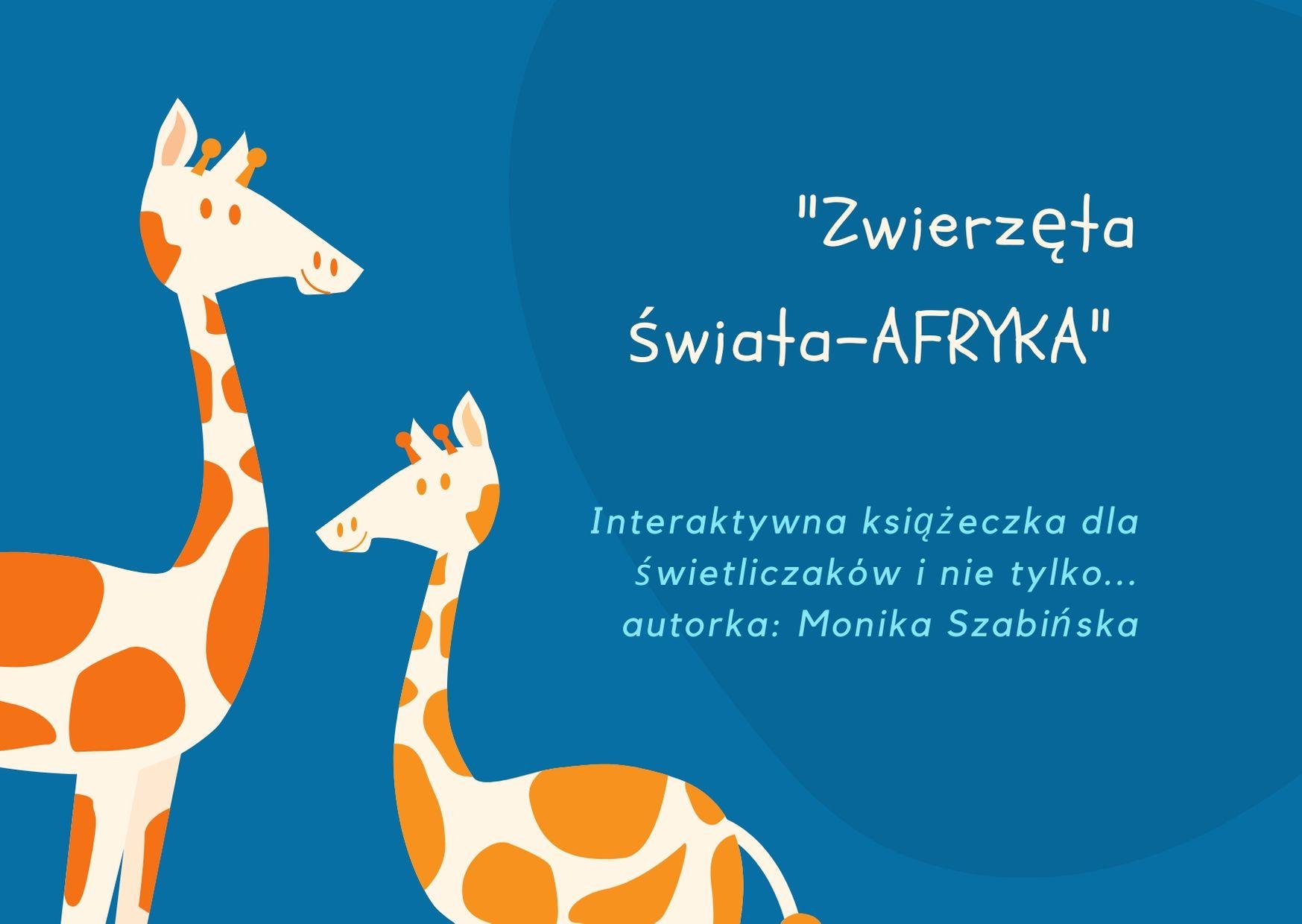 Zwierzęta świata - Afryka