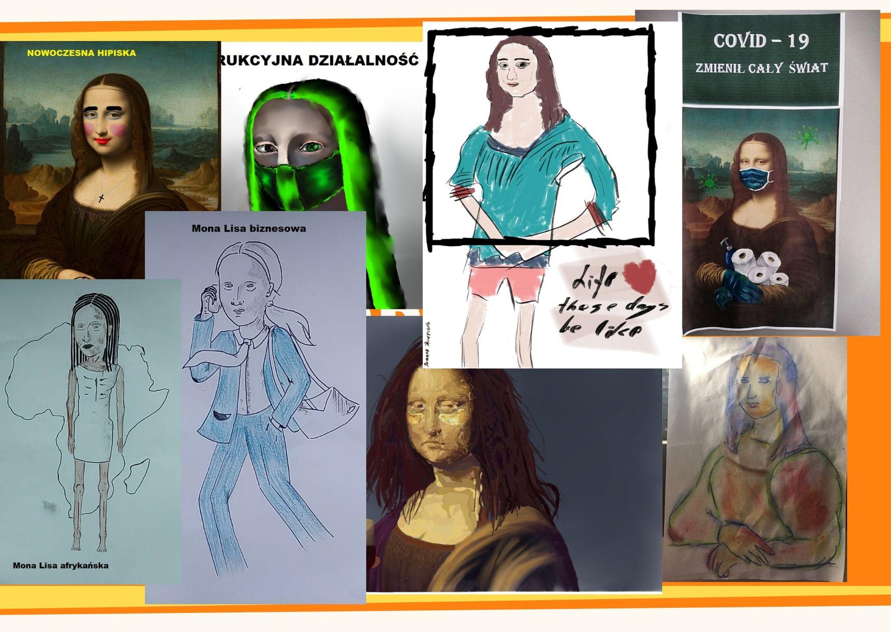 Projekt LO - Mona Lisa