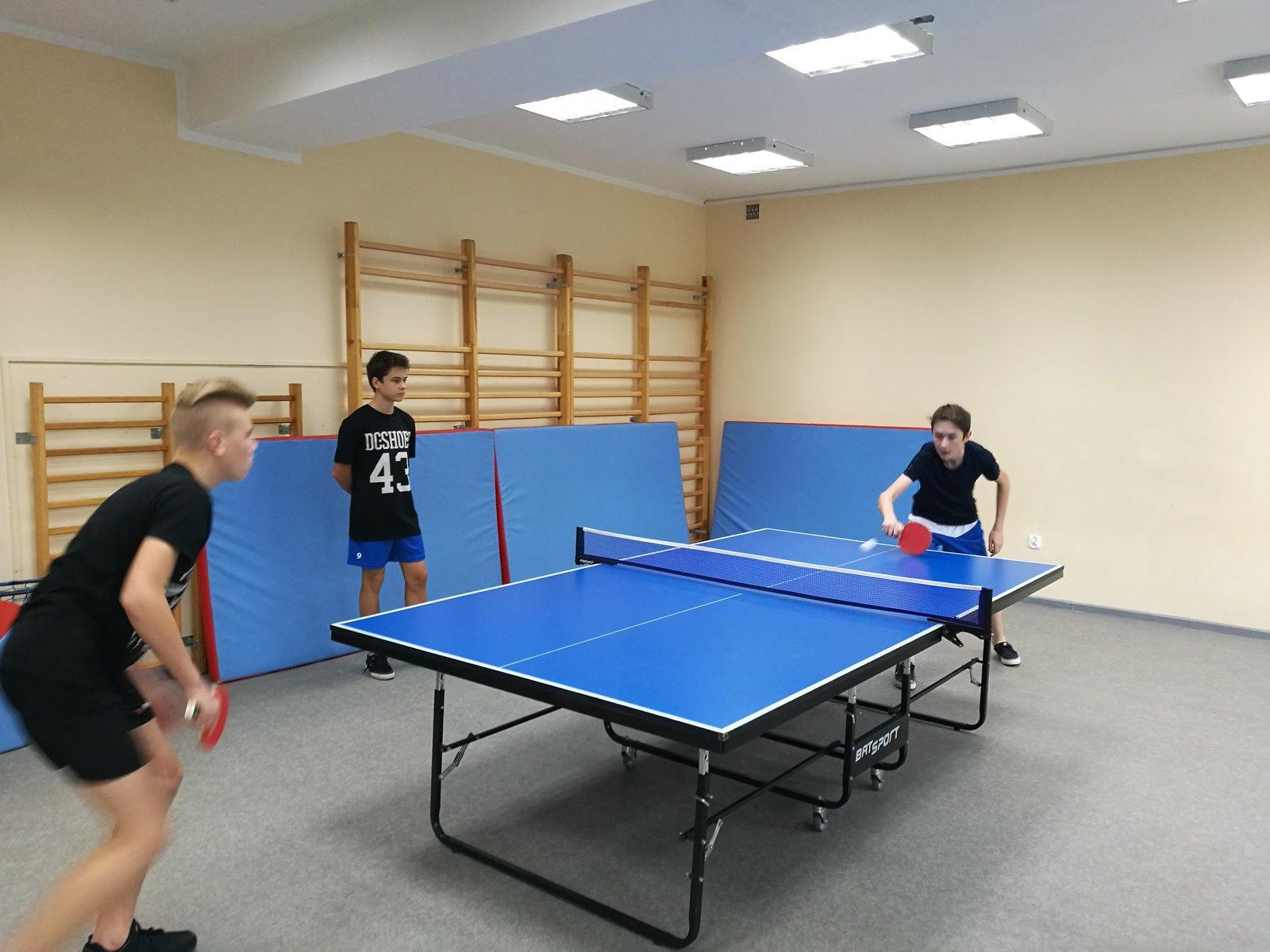 Igrzyska Młodzieży Szkolnej w tenisie stołowym