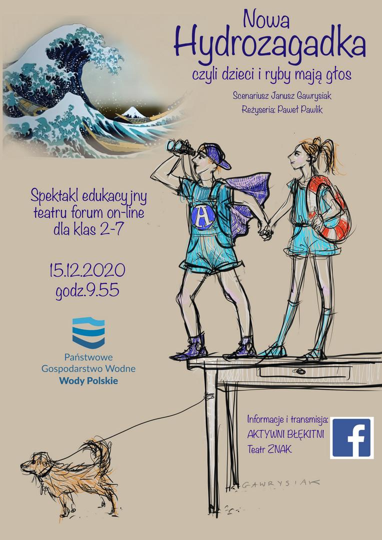 Nowa hydrozagadka czyli dzieci i ryby mają głos