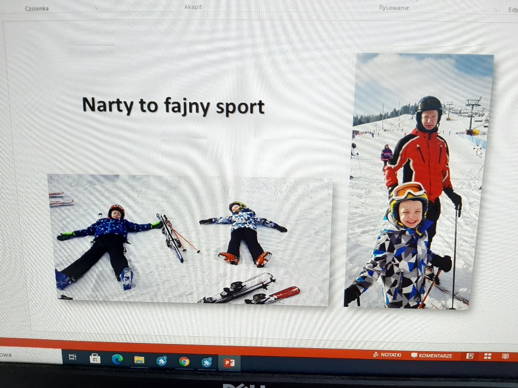 Lekcja o nartach