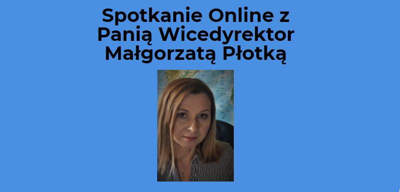 Pokój Online P. Małgorzaty Płotki
