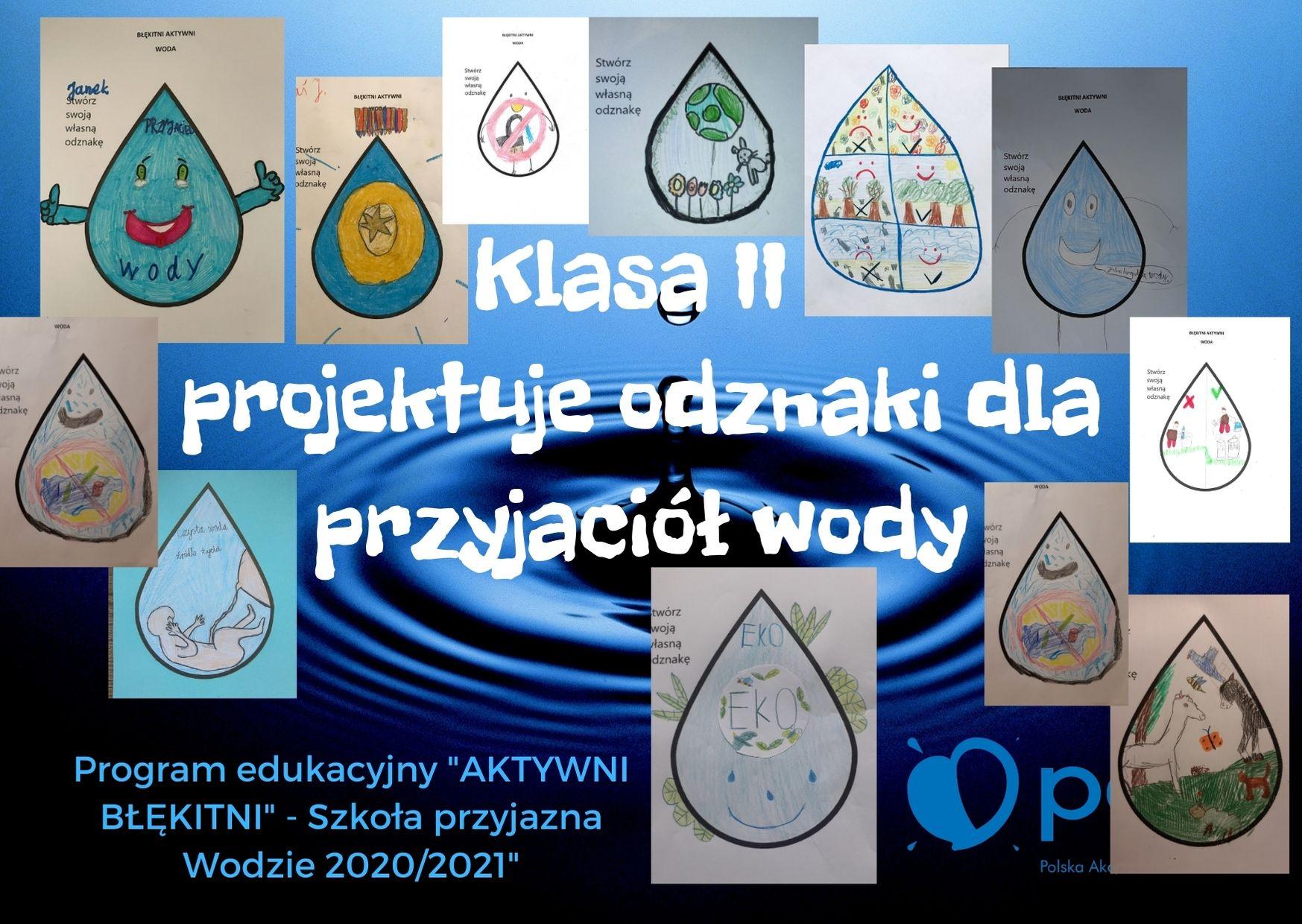 Projekty odznaki przyjaciela wody - klasa II