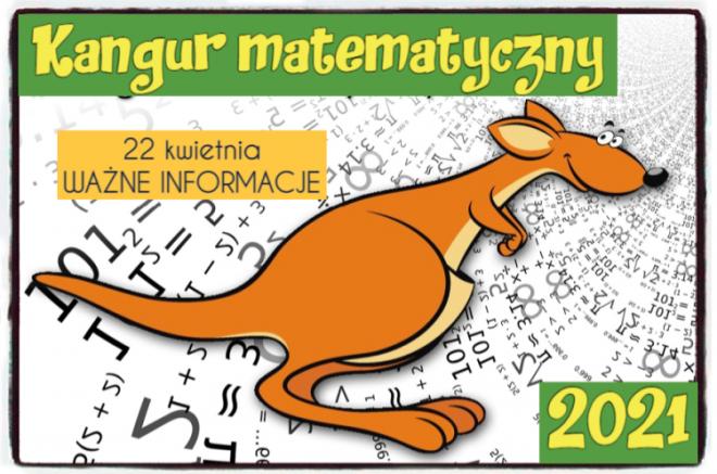 Kangur Matematyczny 2021 rok-WYNIKI