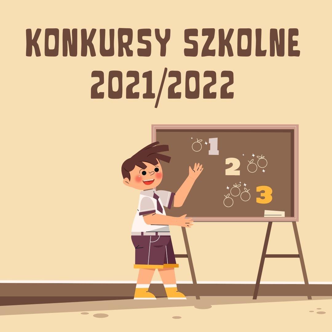 Harmonogram konkursów szkolnych 2021/2022