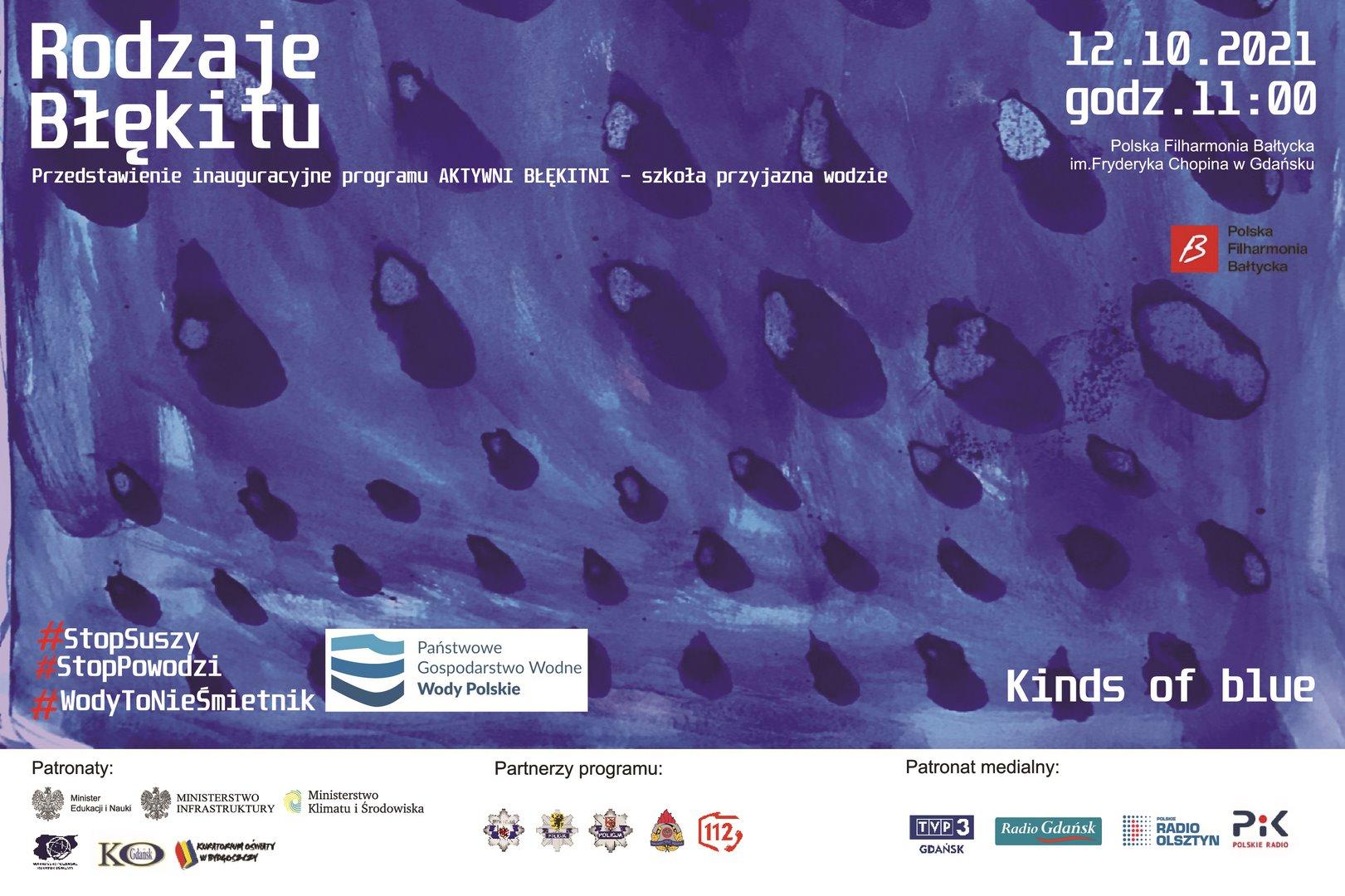 Spektakl online - Rodzaje Błękitu