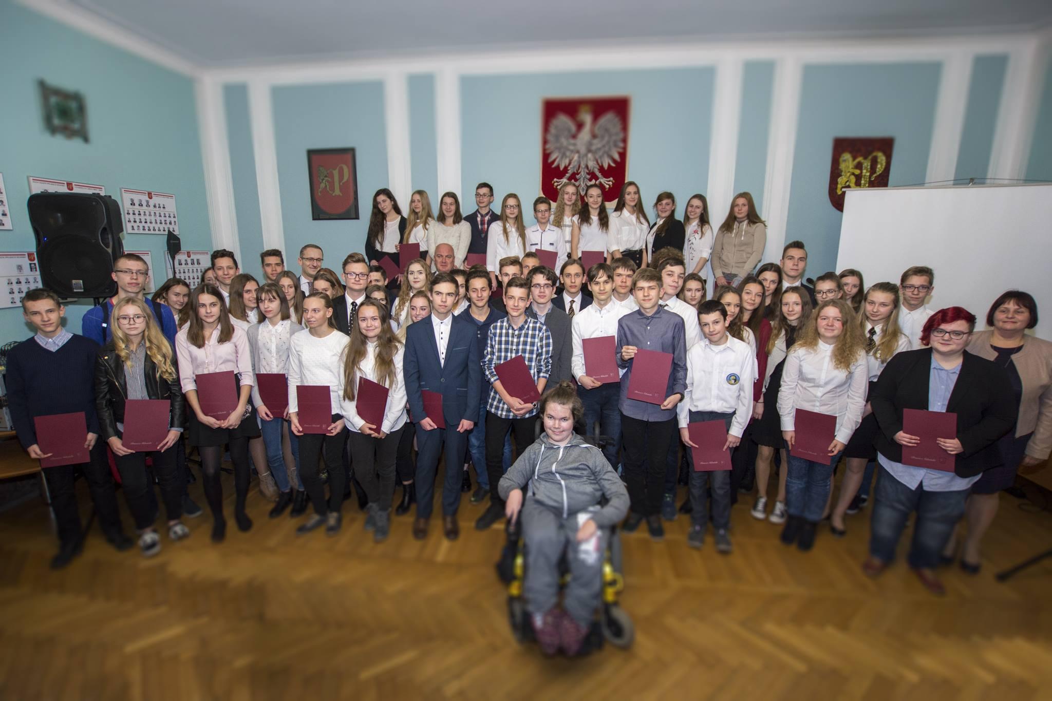Przyznano Stypendia Burmistrza Miasta Pruszcz Gdański