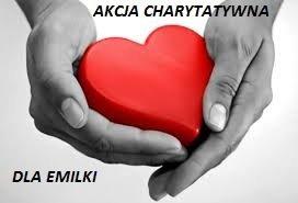 Podziękowanie za akcję charytatywną Niedziela dla Emilki - czerwiec 2017