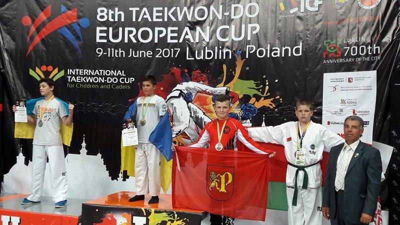 Wojtek Boroch wywalczył brązowy medal - czerwiec 2017