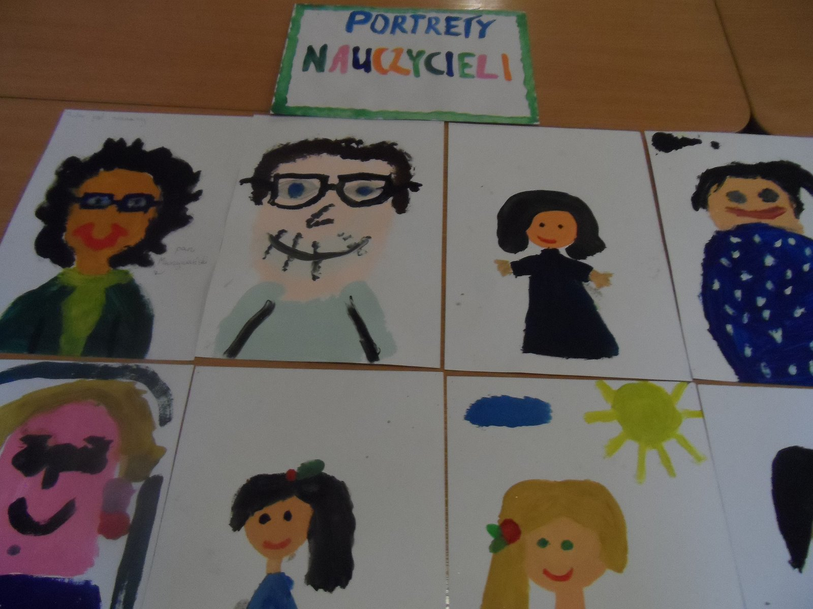 Portrety nauczycieli