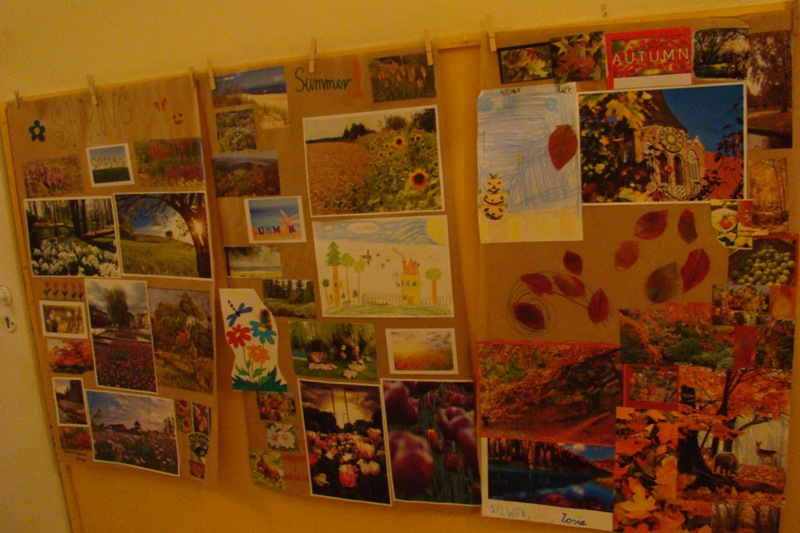Klasa 3 - język angielski: pory roku i kalendarz