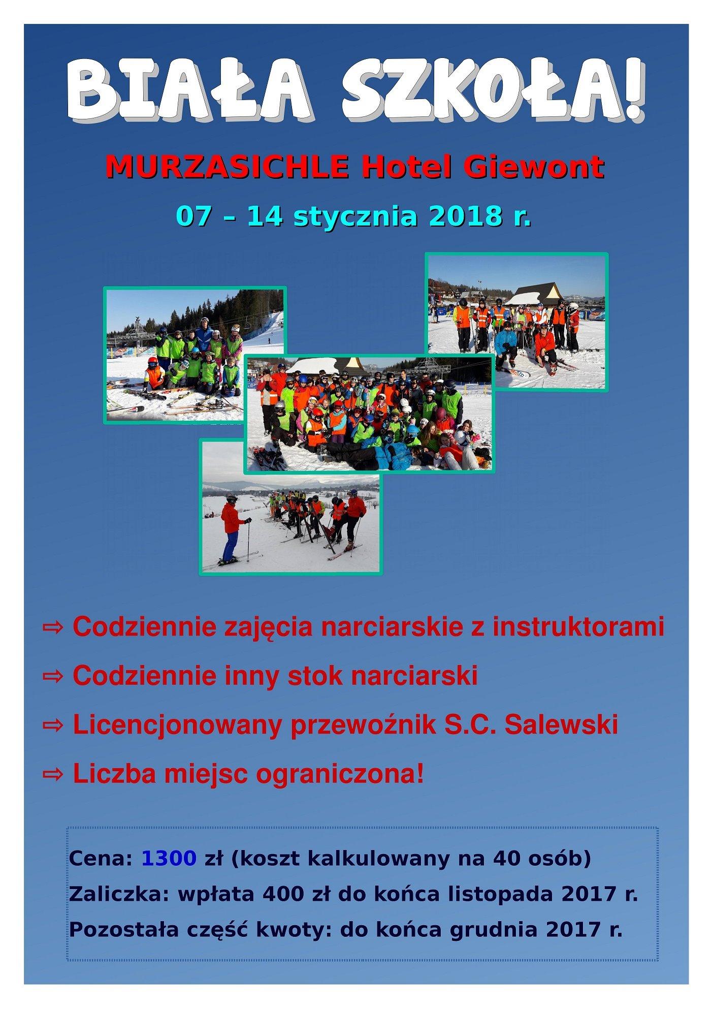 Biała Szkoła 2018