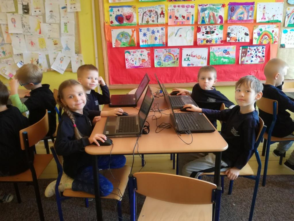 Na zajęciach komputerowych