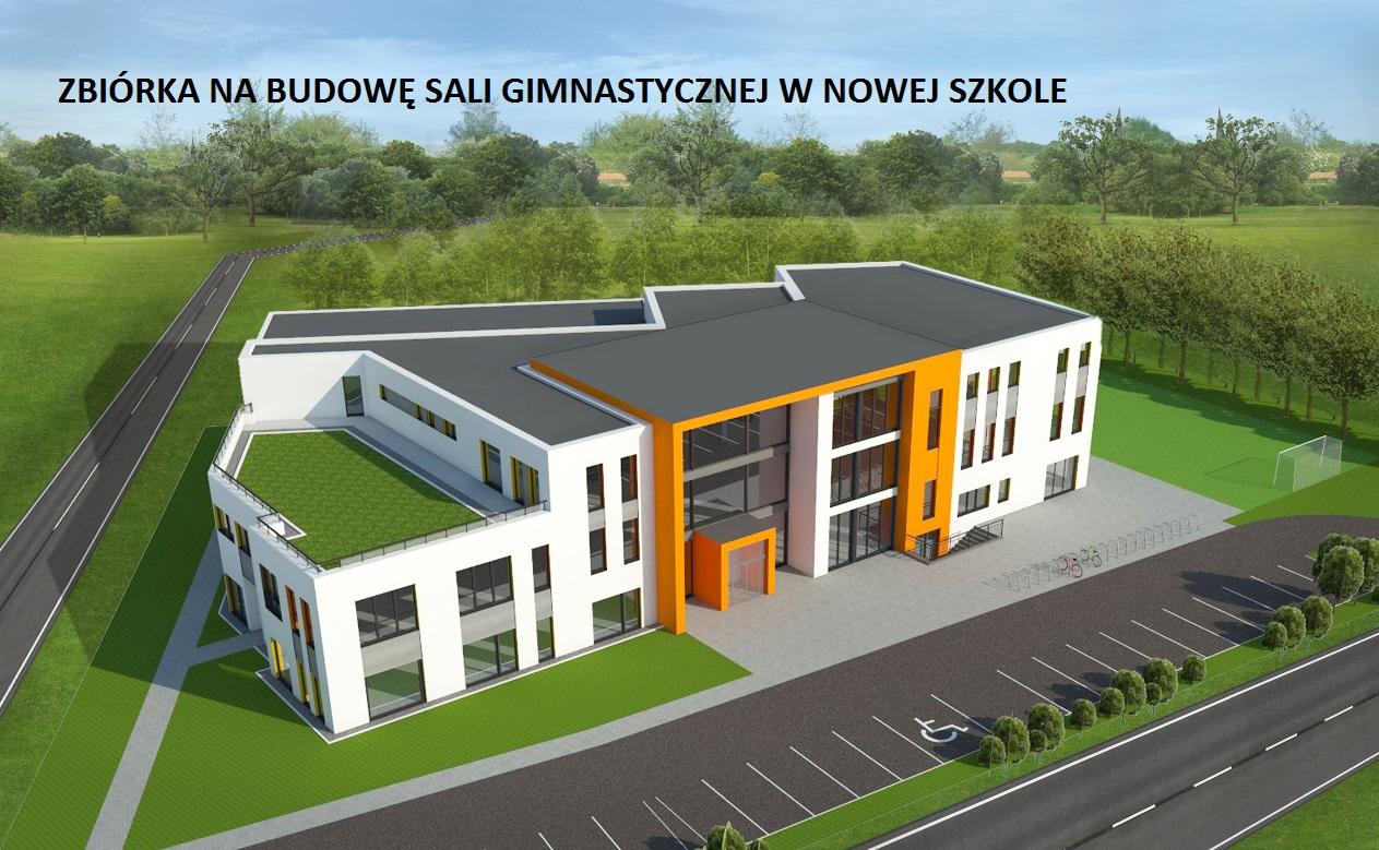 Zbiórka na budowę sali gimnastycznej w nowej szkole