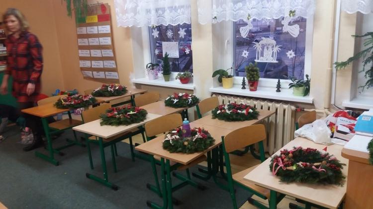 Spotkanie integracyjne w klasie 2