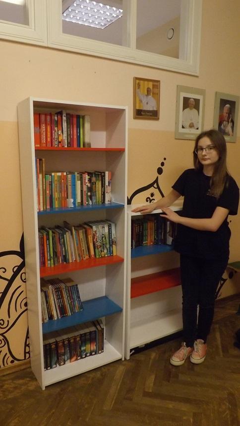 Wkrótce wielkie otwarcie Biblioteczki szkolnej