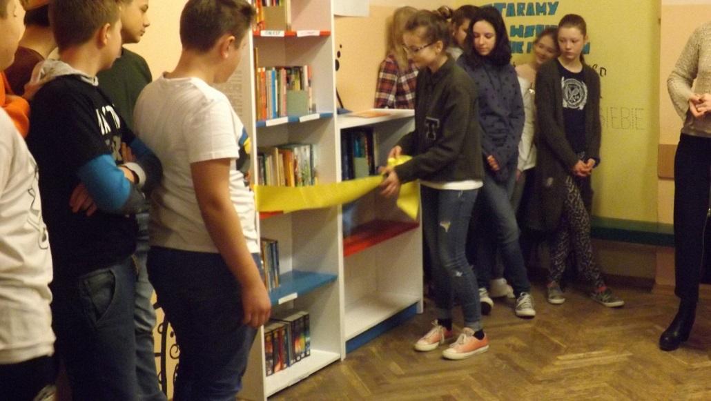 25 stycznia 2018 Wielkie Otwarcie Biblioteczki Szkolnej