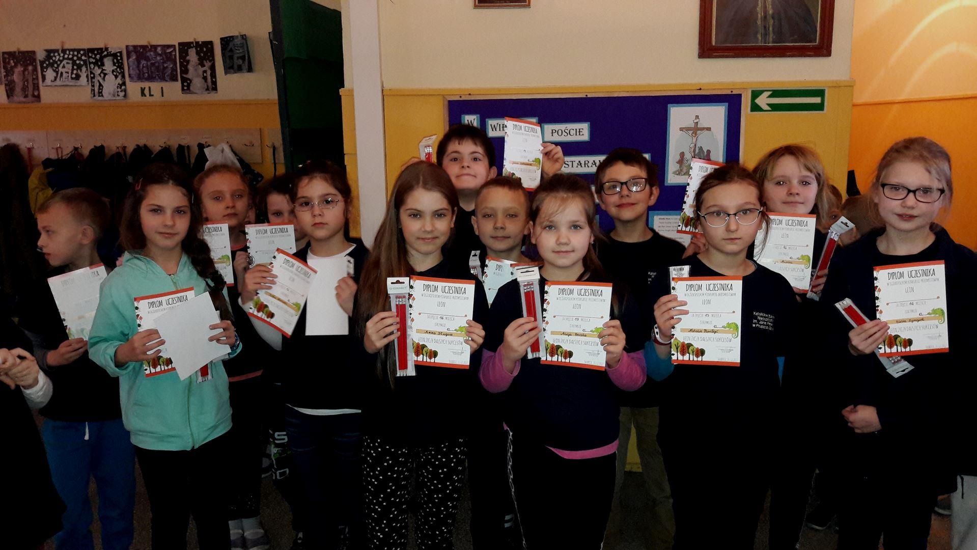 LEON - Ogólnopolski Konkurs Przedmiotowy - zintegrowane sprawności