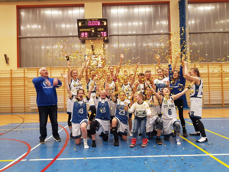 Kasia i Julka - nasze koszykarki Mistrzyniami Pomorza - po raz kolejny!