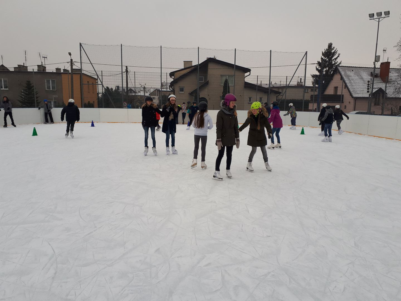 zajęcia sportowe na lodowisku