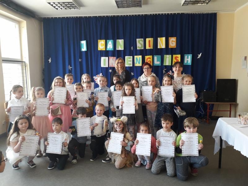 I CAN SING IN ENGLISH: konkurs piosenki angielskiej dla klas 0-3