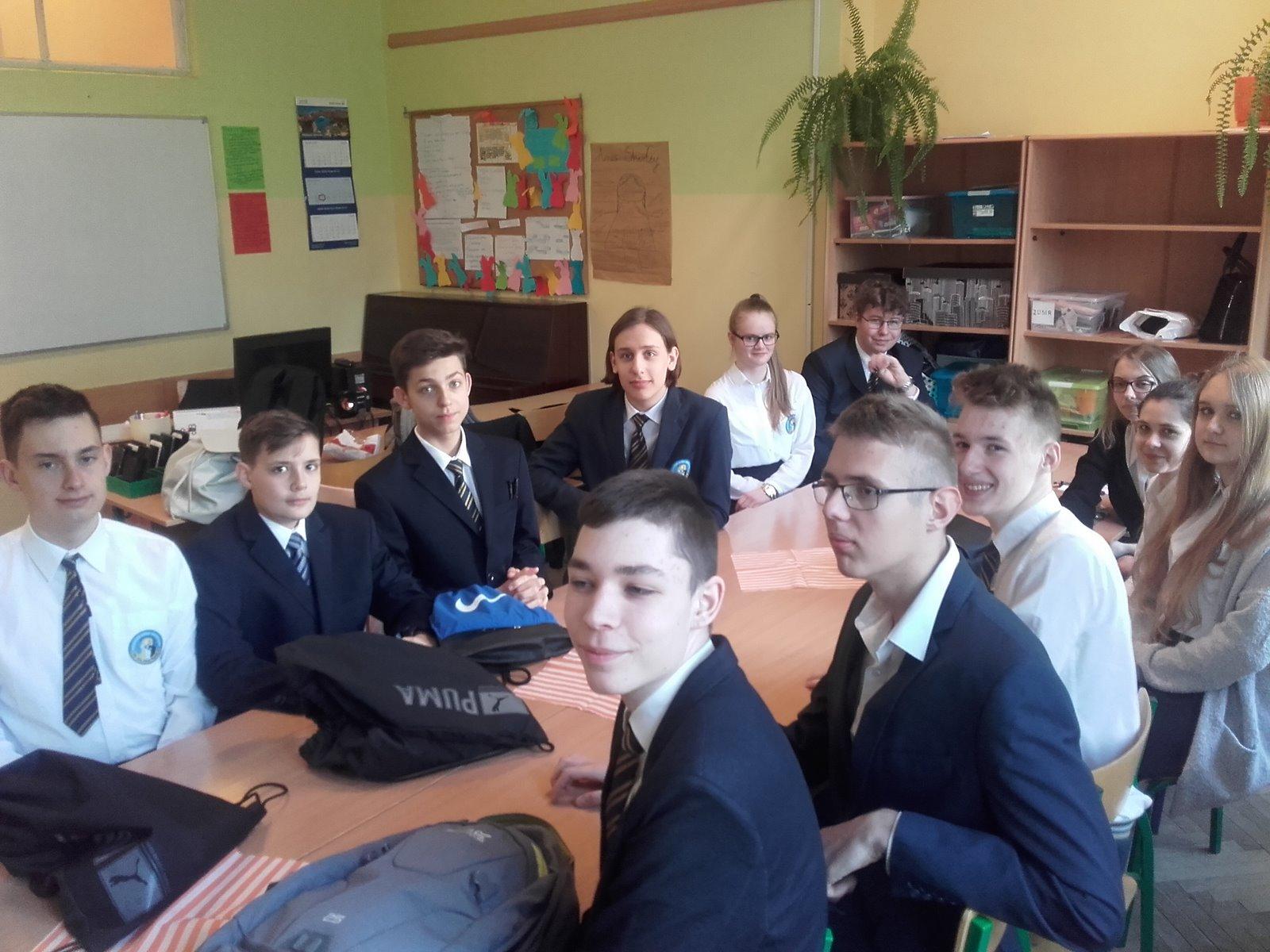 Egzaminy gimnazjalne klasy IIIA Gim.