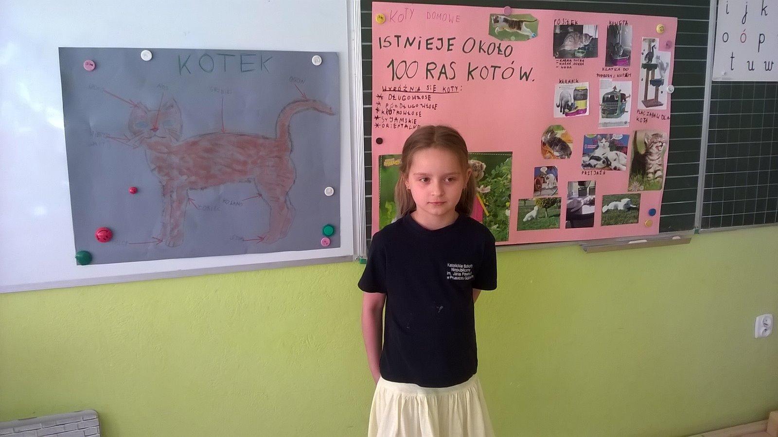 Lekcja o katach - w roli nauczyciela Fatima.