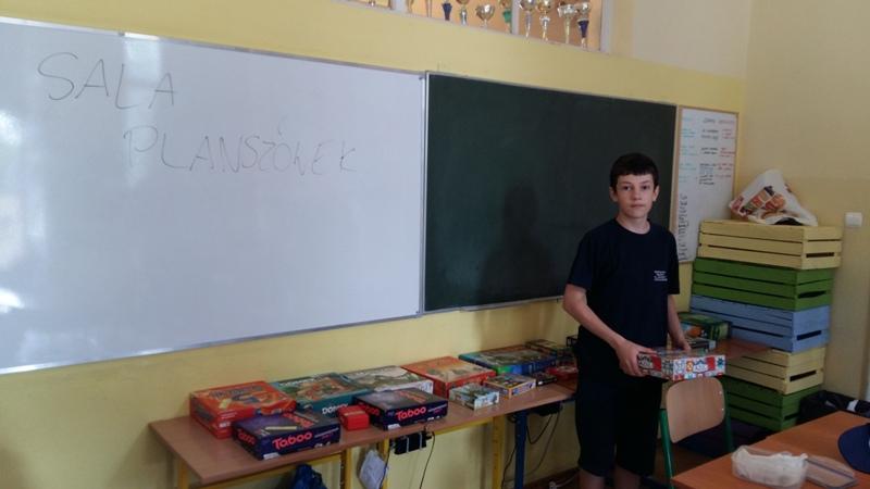 Gry planszowe - projekt Michała Zacharzewskiego