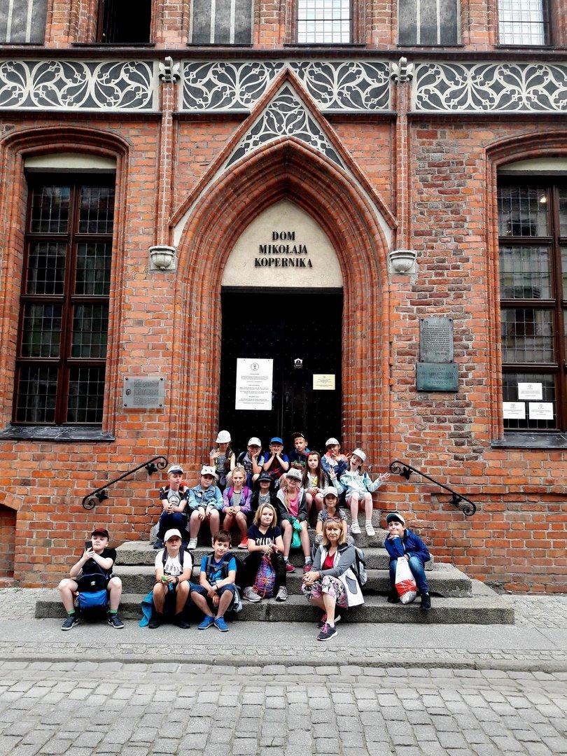 Klasa III na wycieczce w Toruniu – dzień 2
