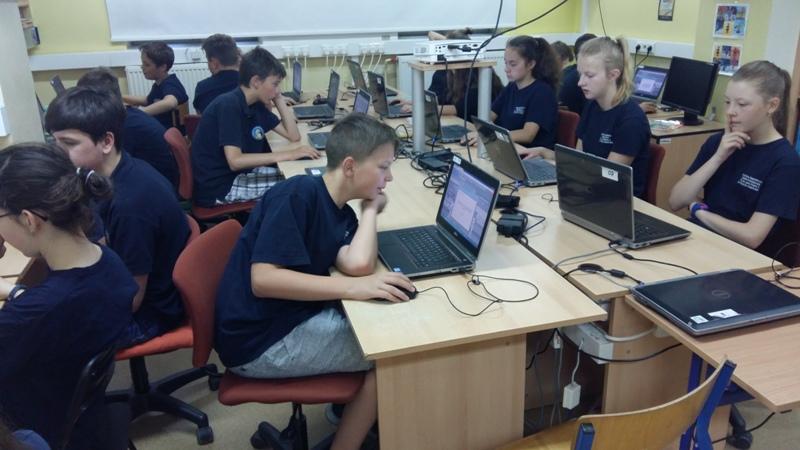 Warsztaty komputerowe w II semestrze 2017/2018 dla  klasy VI-VII SP