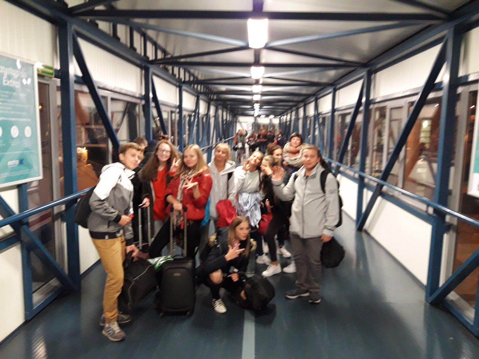 Fotoleracja z wycieczki promem do Szwecji