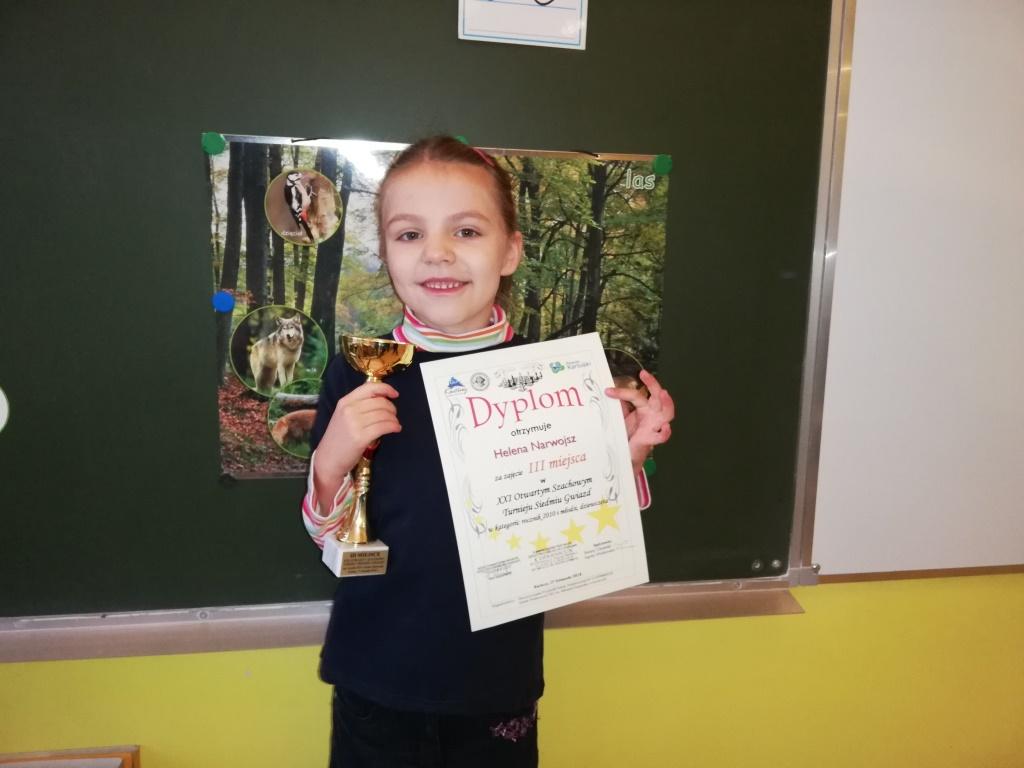 Szachowy sukces Helenki