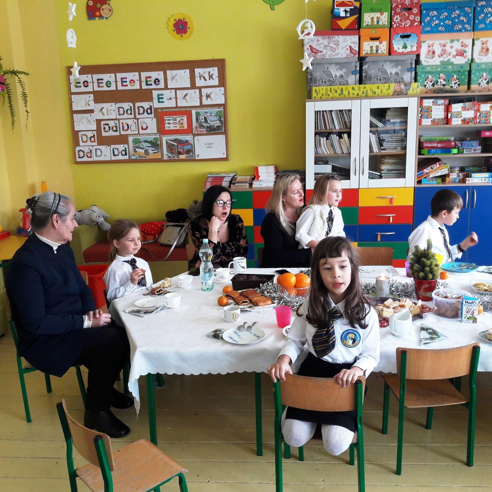 Wigilia klasowa – przedświąteczne spotkanie